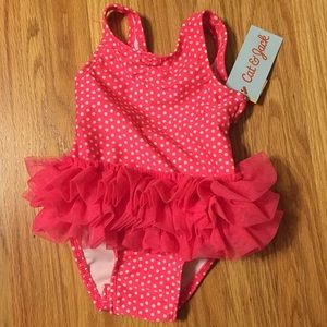 Cat and jack 9 months old bathing suit brand new